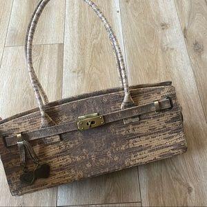 Stuart Weitzman Vintage Leather Y2K Handbag
